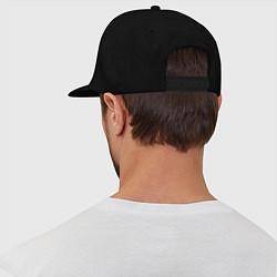 Кепка-снепбек Canada цвета черный — фото 2