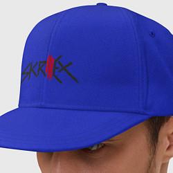 Кепка-снепбек Skrillex цвета синий — фото 1
