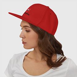 Кепка-снепбек Logo lamborghini цвета красный — фото 2