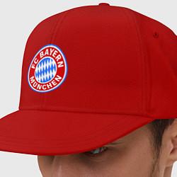 Кепка-снепбек Bayern Munchen FC цвета красный — фото 1