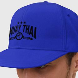 Кепка-снепбек Muay thai boxing цвета синий — фото 1