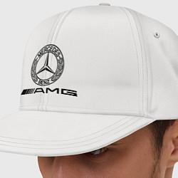 Кепка-снепбек AMG цвета белый — фото 1