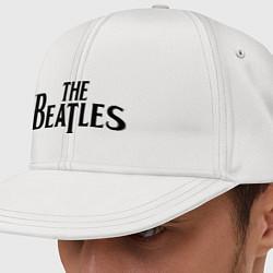 Кепка-снепбек The Beatles цвета белый — фото 1