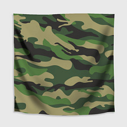 Скатерть для стола Камуфляж: хаки/зеленый цвета 3D — фото 1