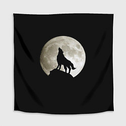 Скатерть для стола Moon Wolf цвета 3D — фото 1