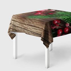 Скатерть для стола Дуx рождества цвета 3D — фото 2