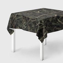 Скатерть для стола Камуфляж с холодным оружием цвета 3D — фото 2