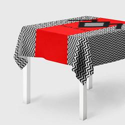 Скатерть для стола Twin Peaks Mark цвета 3D-принт — фото 2