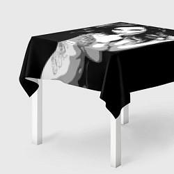 Скатерть для стола Sexy Girl: Black & White цвета 3D — фото 2