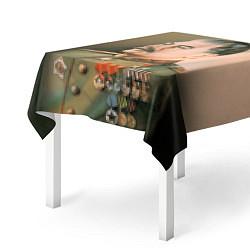 Скатерть для стола Иосиф Сталин цвета 3D-принт — фото 2