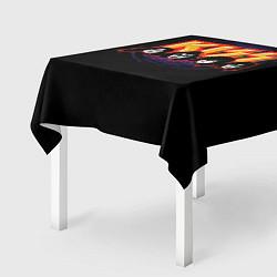 Скатерть для стола KISS: Death Faces цвета 3D — фото 2