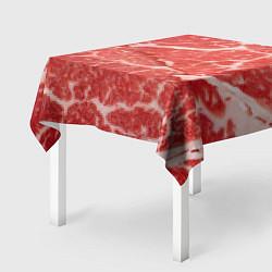 Скатерть для стола Кусок мяса цвета 3D — фото 2