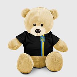 Игрушка-медвежонок Украина цвета 3D-желтый — фото 1