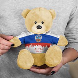 Игрушка-медвежонок Altai: Russia цвета 3D-желтый — фото 2