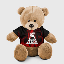 Игрушка-медвежонок Fall Out Boy: Red Flame цвета 3D-коричневый — фото 1