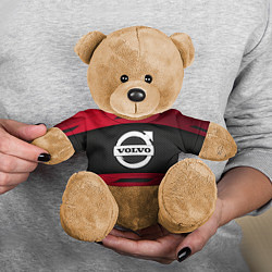 Игрушка-медвежонок Volvo Sport цвета 3D-коричневый — фото 2