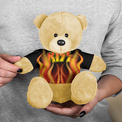 Игрушка-медвежонок KISS цвета 3D-желтый — фото 2