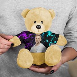 Игрушка-медвежонок Егор Крид цвета 3D-желтый — фото 2