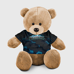 Игрушка-медвежонок Roblox Neon Hex цвета 3D-коричневый — фото 1