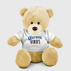 Игрушка-медвежонок Корона Виоус цвета 3D-желтый — фото 1