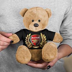 Игрушка-медвежонок Arsenal цвета 3D-коричневый — фото 2