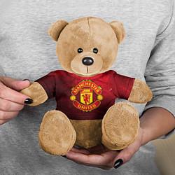 Игрушка-медвежонок Манчестер Юнайтед цвета 3D-коричневый — фото 2