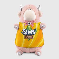Игрушка-бычок The Sims: Roaring Heights цвета 3D-светло-розовый — фото 1