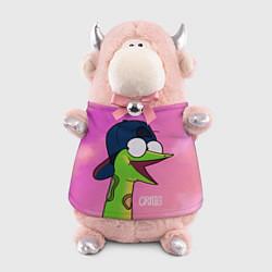 Игрушка-бычок Удав Крейг цвета 3D-светло-розовый — фото 1
