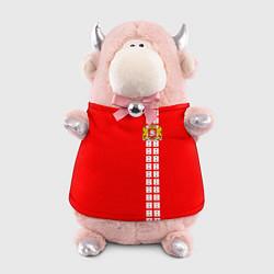 Игрушка-бычок Грузия цвета 3D-светло-розовый — фото 1