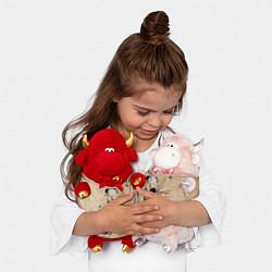 Игрушка-бычок Зигмунд Фрейд цвета 3D-красный — фото 2