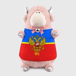 Игрушка-бычок Чита: Россия цвета 3D-светло-розовый — фото 1