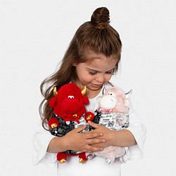 Игрушка-бычок LIL PEEP LOGOBOMBING цвета 3D-красный — фото 2