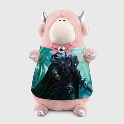 Игрушка-бычок Король Лич цвета 3D-светло-розовый — фото 1