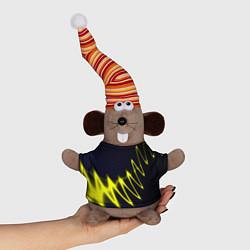 Игрушка-мышка Молния цвета 3D-серый — фото 1