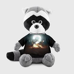 Игрушка-енот Destiny 2 цвета 3D-серый — фото 1
