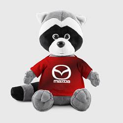 Игрушка-енот Mazda: Red Carbon цвета 3D-серый — фото 1
