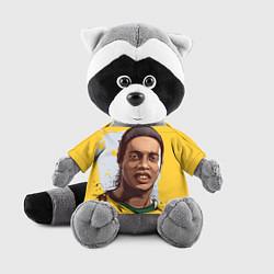 Игрушка-енот Ronaldinho Art цвета 3D-серый — фото 1