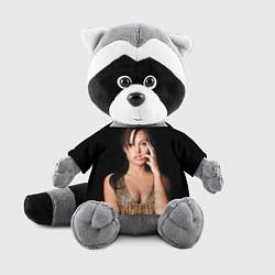 Игрушка-енот Angelina Jolie цвета 3D-серый — фото 1