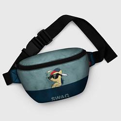 Поясная сумка My SWAG Pony цвета 3D-принт — фото 2