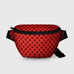 Поясная сумка Леди Баг: узор цвета 3D — фото 1