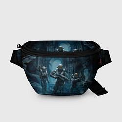 Поясная сумка Halo wars цвета 3D-принт — фото 1