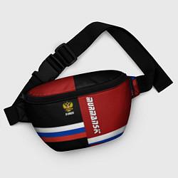 Поясная сумка Murmansk, Russia цвета 3D-принт — фото 2