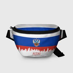 Поясная сумка Altai: Russia цвета 3D-принт — фото 1