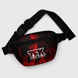 Поясная сумка Thousand Foot Krutch: Red Flame цвета 3D — фото 2