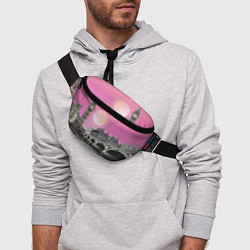 Поясная сумка Закат в Великобритании цвета 3D — фото 2
