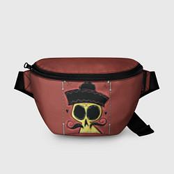 Поясная сумка Dia de los Muertos цвета 3D-принт — фото 1