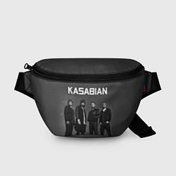 Поясная сумка Kasabian: Boys Band цвета 3D-принт — фото 1