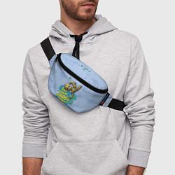 Поясная сумка Get your Groot on! цвета 3D-принт — фото 2