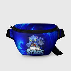 Поясная сумка БРАВЛ СТАРС ЛЕОН цвета 3D — фото 1