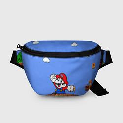 Поясная сумка Mario цвета 3D-принт — фото 1